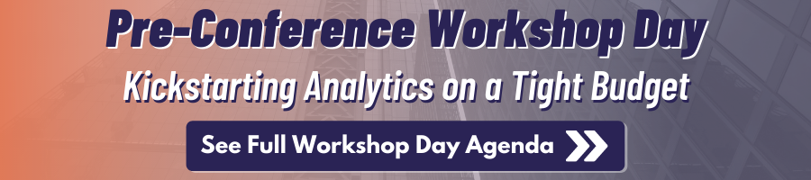 Pre-Conference Workshop Day - Click Here to See the Full Agenda